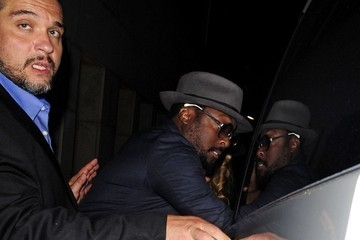 will.i.am will.i.am Grabs Dinner with a Friend
