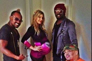 will.i.am Fergie Shares Baby Shower Pics