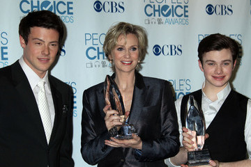 Jane Lynch Cory Monteith The 2011 People's Choice Awards - Press Room
