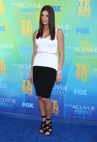 Celebrities attend the 2011 Teen Choice Awards at the Gibson Amphitheatre in Los Angeles.