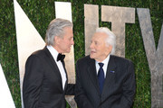 Celebrities at the 2012 Vanity Fair Oscar Party at the Sunset Tower hotel in Hollywood, CA on February 26, 2012<br /> <br /> Pictured: Michael Douglas, Kirk Douglas
