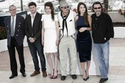 Geoffrey Rush and Astrid Berges Frisbey Photos Photo