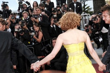 """Brad Pitt Jessica Chastain 64th Annual Cannes Film Festival - """"The Tree Of Life"""" Premiere 2"""