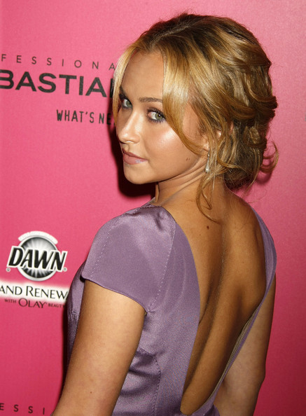 Hayden Panettiere Dangling Diamond Earrings