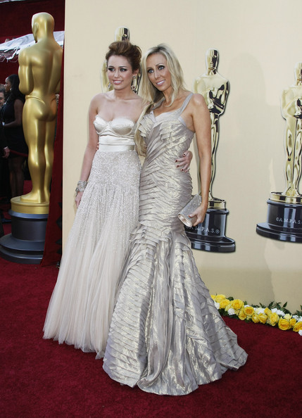 Tish Cyrus Celebrities arrive at the 82nd Annual Academy Awards at the Kodak Theatre in Hollywood, CA.