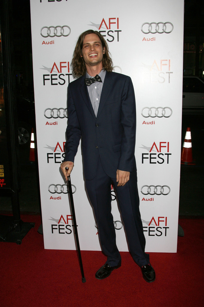 Matthew Gray Gubler Photos Photos - AFI Film Festival ...