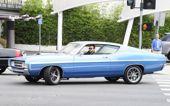Aaron Paul Shows Off His Classic Ride []