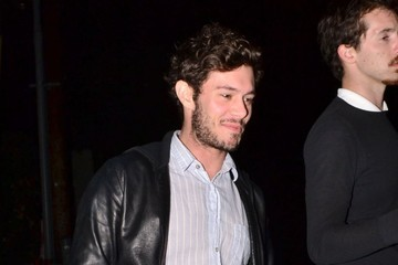 Adam Brody Celebrities Enjoy A Night Out At Chateau Marmont