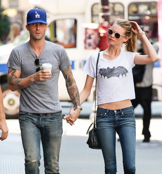 adam levine and behati prinsloo photos photos adam