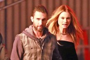 Adam Levine & Behati Prinsloo Shoot A Music Video