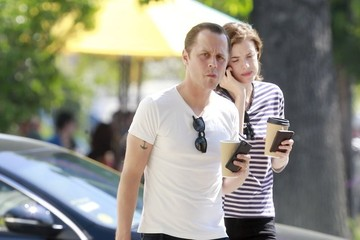 Agyness Deyn Giovanni Ribisi and Agyness Deyn Gets Lunch