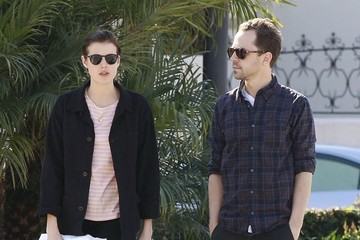 Agyness Deyn Giovanni Ribisi Grabs Lunch With His Wife
