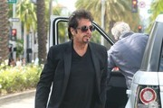 Al Pacino Lunches in Beverly Hills