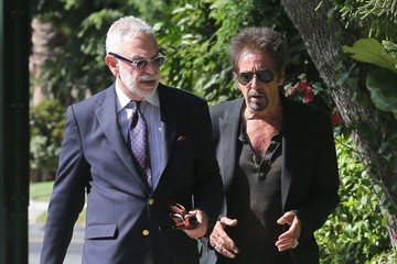 Al Pacino Al Pacino Out with a Friend in LA