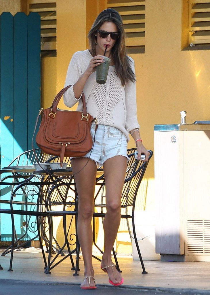 Want to Look Like Alessandra Ambrosio? Here's Where to Buy Her Denim Shorts