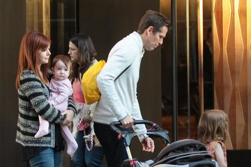 Alexis Denisof Alyson Hannigan Shows Off Her Adorable Family