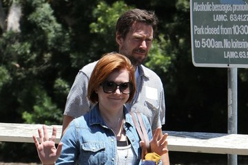 Alexis Denisof Alyson Hannigan and Alexis Denisof Enjoy a Day at the Park
