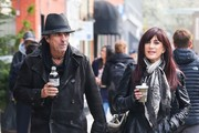 Alice Cooper & Sheryl Goddard Out Shopping In New York
