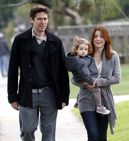 Alyson Hannigan and husband