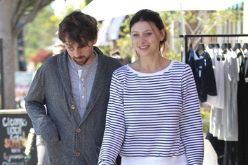 Alyson Michalka Aly Michalka & Stephen Ringer Out For Lunch In Beverly Hills