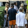 Amber Davis Scott Disick Goes Out for Lunch With Amber Davis and Friends