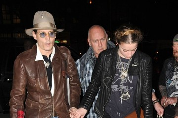 Amber Heard Amber Beard Celebrates Her Birthday with Johnny Depp