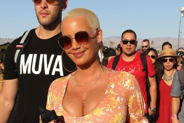 Amber Rose Coachella Music Festival - Day 3