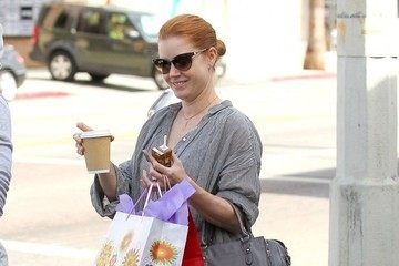 Amy Adams Amy Adams & Family Out Shopping In West Hollywood