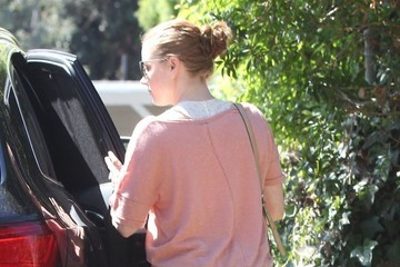Amy Adams Amy Adams & Family Out And About In Studio City