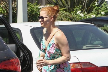 Amy Adams Amy Adams & Family Shopping At The Mall