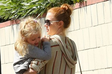 Amy Adams Amy Adams Takes Her Daughter To A Swim Class