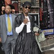 Andre Benjamin Celebs Visit the 'Late Show with David Letterman'