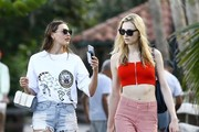 Alina Baikova and Andreja Pejic Photos Photo