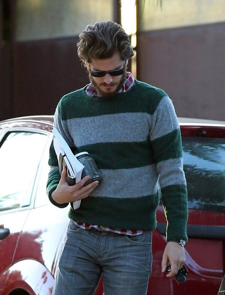 Andrew Garfield Stops By Director Marc Webb's House []