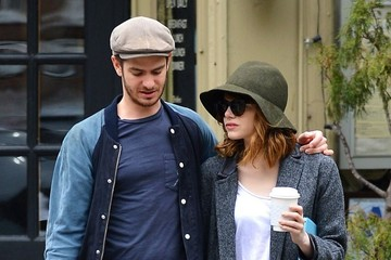 Andrew Garfield Emma Stone and Andrew Garfield's Coffee Date