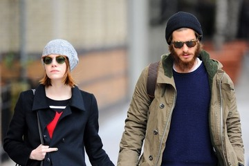 Andrew Garfield Emma Stone and Andrew Garfield Out in NYC