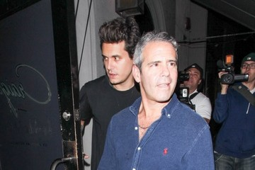 Andy Cohen John Mayer & Andy Cohen Arrive At Craig's In WeHo