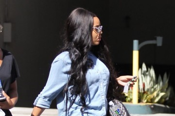 Angela Simmons Angela Simmons Stops by a Dermatologist in Beverly Hills