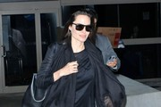 Angelina Jolie Touches Down at LAX