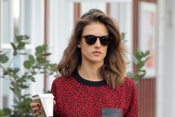Anja Ambrosio Mazur Alessandra Ambrosio Shops in Brentwood with Her Daughter