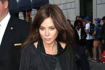 Anna Friel Anna Friel Leaves Her NYC Hotel