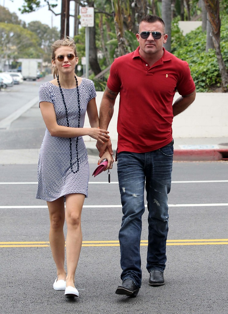 Dominic Purcell And Annalynne Mccord Dominic Purcell and AnnaLynne