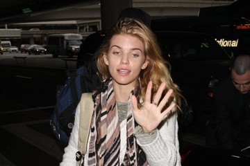 AnnaLynne McCord AnnaLynne McCord and Her Boyfriend at LAX