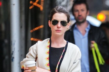 Anne Hathaway Anne Hathaway Out and About in NYC