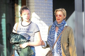 Annette Bening Annette Bening Shops With Her Daughter at The Gorve