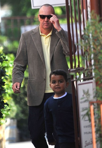 Arnold Vosloo & Grandson At The Brentwood Country Mart