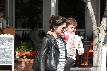 Arthur Bleick Selma Blair Steps Out for Lunch With Her Son