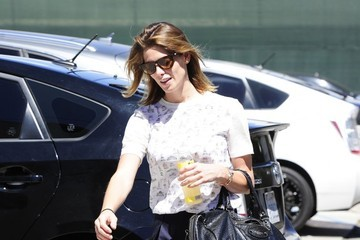 Ashley Greene Ashley Greene Gets Her Workout In