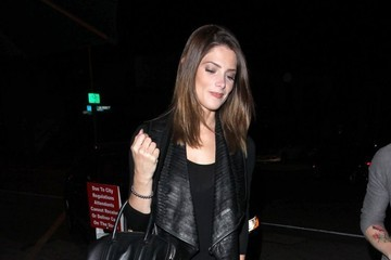 Ashley Greene Celebrities Enjoy Dinner At Craig's Restaurant