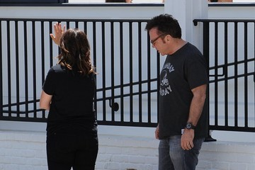 Ashley Groussman Tom Arnold Out To Family Lunch